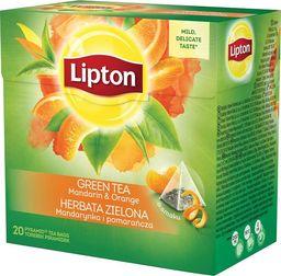 Lipton LIPTON GREEN ORANGE PIRAM 20TB - zakupy dla firm - 8420156