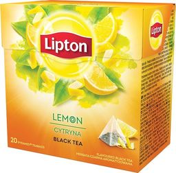 Lipton LIPTON LEMON PIRAMIDKI 20TB - zakupy dla firm - 8328998