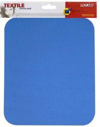 Podkładka Logo pod mysz miękka, niebieska