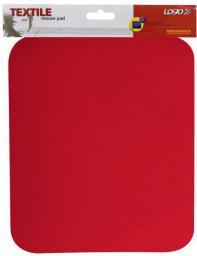 Podkładka Logo pod mysz miękka, czerwona