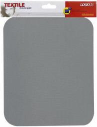 Podkładka Logo pod mysz miękka, szara (50101)