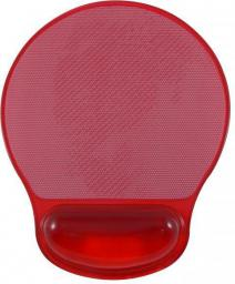 Podkładka Logo pod mysz Żelowa czerwona