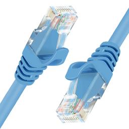 Unitek Patchcord UTP, CAT.6, 5m, niebieski  (Y-C812ABL)