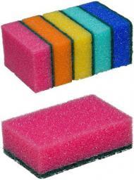 Gąbka Maxi, color, 5szt