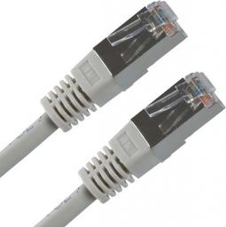 Patchcord, FTP, Cat.5e, 15m, szary