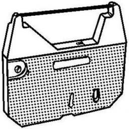 Taśma do maszyny do pisania dla Brother AX 110, 250, 310, 33, 410, LW 300, WP 70, czarna, tekstylny, PK142, N