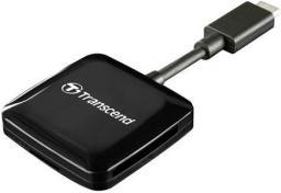 Czytnik Transcend USB-C Czarny (TS-RDC2K)