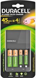 Ładowarka Duracell Akumulatory 2xAA 1300mAh 2x AAA 750mAh (118577)