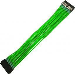 Nanoxia 24-Pin ATX-przedłużacz 30cm, neonowa zieleń (NX24V3ENG)