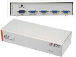 Lindy Splitter 4x VGA Srebrny (32572)