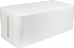 Organizer LogiLink Pudełko do organizacji kabli, Białe, 400x160x135mm (KAB0063)