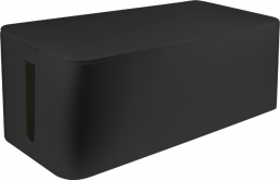 Organizer LogiLink Pudełko do organizacji kabli, Czarne, 400x160x135mm (KAB0062)