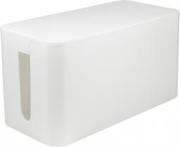 Organizer LogiLink Małe pudełko do organizacji okablowania, Białe, 240x130x120mm (KAB0060)