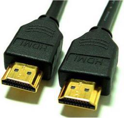 Kabel HDMI - HDMI, 1, Czarny