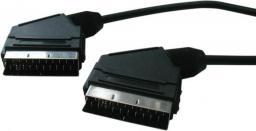 Kabel Scart - Scart 5m czarny