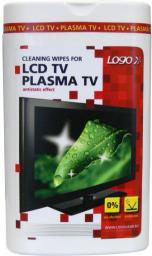 Logo Chusteczki jednorazowe, do TV LCD, TV plazmowych, kina domowego 50szt.