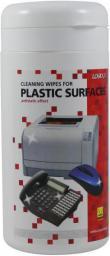 Logo chusteczki jednorazowe do plastiku, pudełko, 100szt.