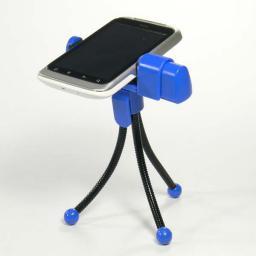Logo telefonu komórkowego na stół, niebieski, termoplastyczny