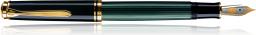 Pelikan Pióro wieczne M 800 Souverän czarno-zielony (86448)