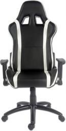 Fotel LC-Power Gaming Chair Czarno-biały (LC-GC-2)