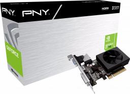 Karta graficzna PNY Technologies GeForce GT 730 2GB DDR3 (GF730GTLP2GEPB)