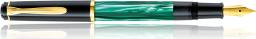 Pelikan Pióro wieczne Classic M200 marmurowa zieleń F - 983395