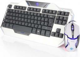 Klawiatura + mysz E-Blue Auroza US z optyczną myszą do gier
