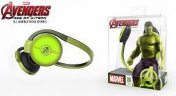 Słuchawki E-Blue Avengers Hulk, Zielone