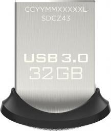 Pendrive SanDisk Cruzer Ultra Fit 32GB (SDCZ43-032G-GAM46)