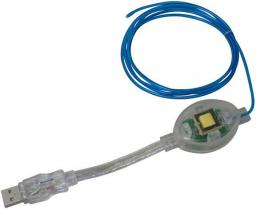 Akasa USB-A 1.5m Niebieski