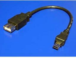 Kabel USB mini(5pin) - A 0.2m