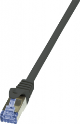 LogiLink CAT7 S/FTP Patchkabel Primeline PIMF czarny 15m (CQ4103S)