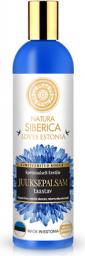 Natura Siberica Loves Estonia Regenerujący balsam do włosów z ekstraktem z maliny moroszki i chabrem 400 ml