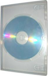 Box na 2 szt. DVD, super clear, No Name, 14mm