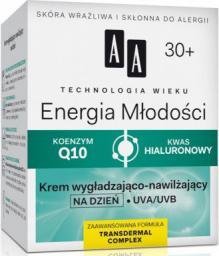 AA Cosmetics Technologia Wieku 30+ Krem wygładzająco-nawilżający na dzień 50ml