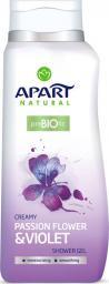 APART  Żel pod prysznic Prebiotic Passiflora i fiołek 400ml