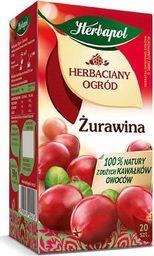 HERBAPOL HERBACIANY OGRÓD - ŻURAWINA ( 2,5 G X 20 TOREBEK), KARTON 12 SZT - zakupy dla firm - 37091253