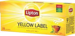 Lipton Yellow Label herbata czarna 25 torebek