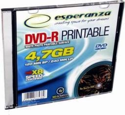 Esperanza DVD-R ESPERANZA slim jewel case 4,7GB (5905784766591)