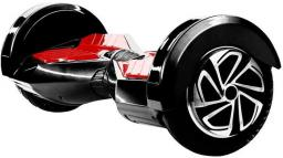 "Deskorolka elektryczna Skymaster Jeździk Skymaster 2WHEELS 8'' BLACK+RED - BT SPEAKER - 2WHEELS 8"" BLACK+RED - BT SPEAKE"