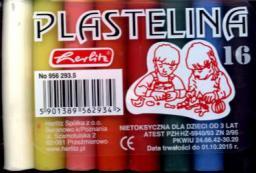 Herlitz PLASTELINA 16-KOL