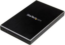 Kieszeń StarTech na dysk 2.5 cala, USB 3.1 Czarna (S251BMU313)