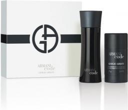 Giorgio Armani Armani Code Zestaw prezentowy (EDT spray 75ml + dezodorant sztyft 75ml)