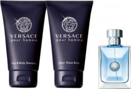 VERSACE Pour Homme (M) EDT 5ml + żel pod prysznic 25ml + balsam po goleniu 25ml