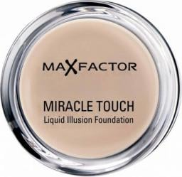MAX FACTOR Miracle Touch podkład w kompakcie 45 Warm Almond 11,5g