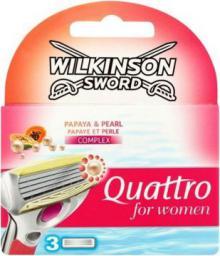 Wilkinson  Quattro For Women Papaya & Pearl 3 szt