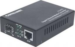 Konwerter światłowodowy Intellinet Network Solutions Gigabit Ethernet to SFP Media Converter 101000Base-TX to SFP slot (510493)