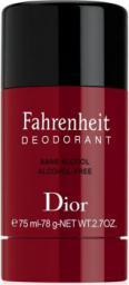 Christian Dior Fahrenheit dezodorant w sztyfcie 75ml
