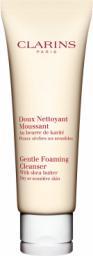 Clarins Gentle Foaming Cleanser with Shea Butter Krem do demakijażu twarzy cera sucha/wrażliwa 125ml