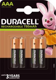 Duracell Akumulator AAA / R03 750mAh 4szt.
